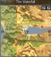Location of NPC Molly at Waterfall