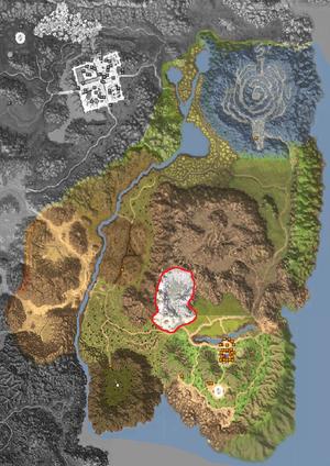 Map - Horizon Area - Salt Mines