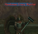 Hawkman Crazy Warrior