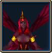 Red Pixie portrait