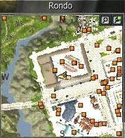 Location of NPC Ake, Merchant in Rondo