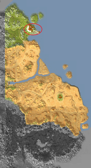 Map - Ruins Area - City of Ruins