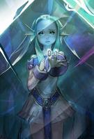 Ice Maiden Evo 1 art card