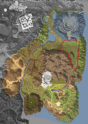 Map - Horizon Area - Bamboo Woods