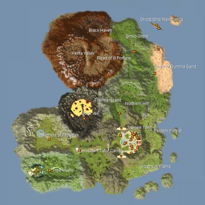 Map - Trainee Island