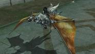 White Dragon mounted