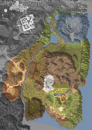 Map - Horizon Area - Relics of Arid Moonlight 2nd Gate