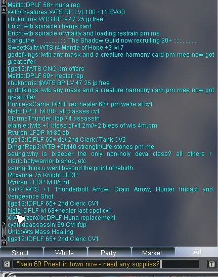 DPLF LFDP chat protocol