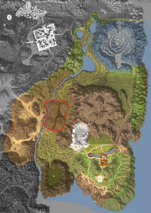Map - Horizon Area - Wolha Cemetery