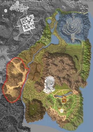 Map - Horizon Area - Near Relics of Arid Moonlight
