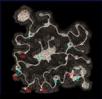 Lost Mine Map