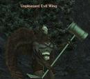 Unpleasant Evil Wing