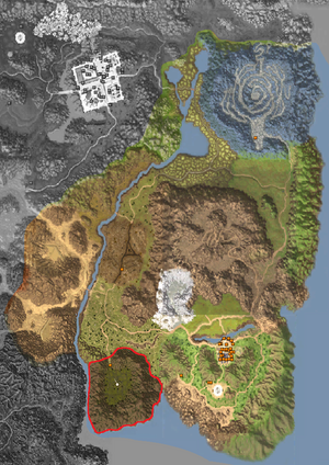Map - Horizon Area - Dead Spirit's Altar