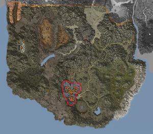 Map - Katan Area - Katan