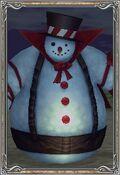 Pet tier6 snowman