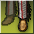 Icon foot deco indian rare