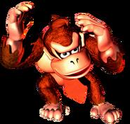 Donkey Kong - Ducking Art - Donkey Kong Country