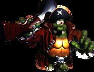 Kaptain K. Rool Artwork - Donkey Kong Country 2