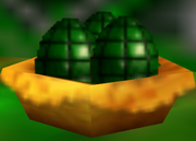 A nest of grenade eggs