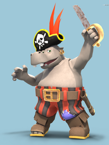 Captain Blubber Artwork - Nuts and Bolts