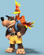 Banjo and Kazooie Artwork - Nuts & Bolts