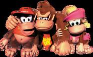 Group Art - Donkey Kong Country 2