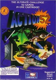 Action 52 (NES) box art
