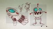 Glove of Doom from R&C (2016) concept art