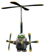 Heli-Pack from R&C (2002) render