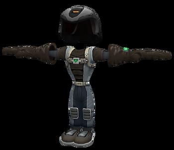 Alpha combat suit