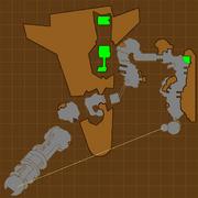 Crash site map