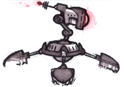 Megacorp Sweeper Bot concept art