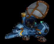 Ratchet's ship render