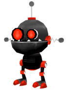 Dark Gadge-Bot from R&C (2002) render