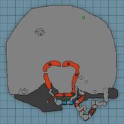 Mining area map