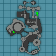 Robot factory from R&C (2002) map