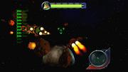 Shoot down Captain Qwark gameplay