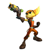 Ratchet from A4O render
