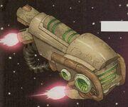 Zogg's ship