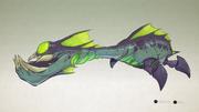 Alien spitter concept art