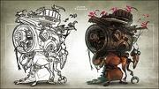 Junk Trador art