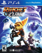 Ratchet & Clank (2016 game) front cover (US)
