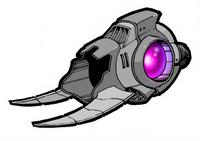 Seeker Gun concept art