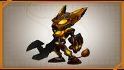 Infernox armor concept art