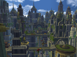 Metropolis from R&C 2002 game screen