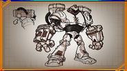 Mega bot concept art