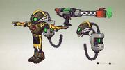 Extermibot from R&C (2016) concept art