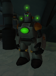 Sentry-bot from R&C (2002) screen