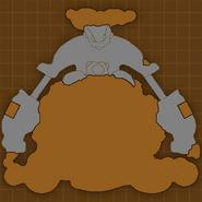 Kavu Island map