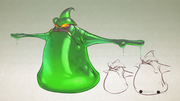 Amoeboid from R&C (2016) concept art